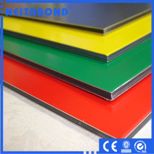 Exterior Wall Used 3mm 4mm PVDF Aluminum Wall Panel with Ce