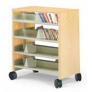 Movable Bookshelf MXCWG 044
