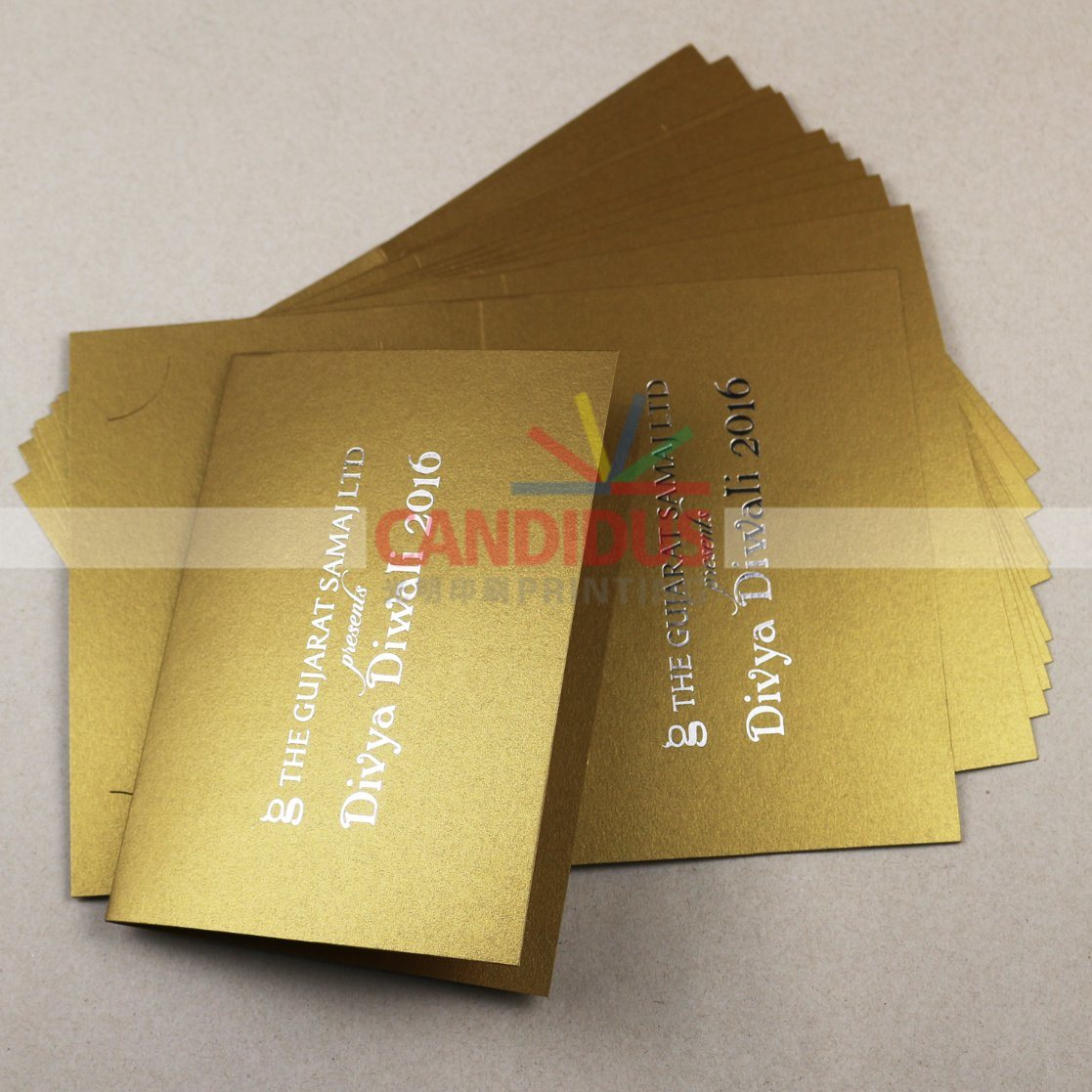 China Luxury Greeting Cards Postcards Printing China Cards