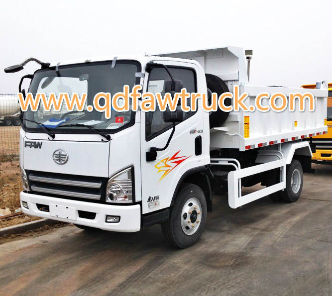 3-5 tons Small dump truck, Light Dump Truck FAW pictures & photos
