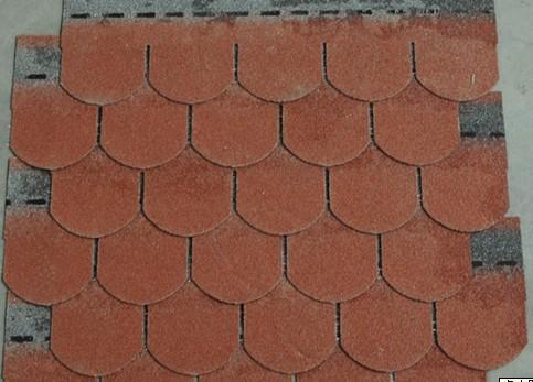 Fish Scale Roof Asphalt Shingles Waterproofing Bitumen Tile