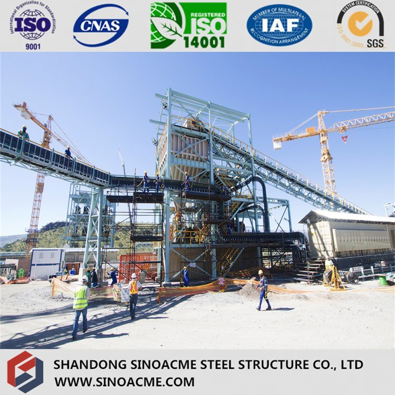 Heavy Steel Structure Plant with Conveyor
