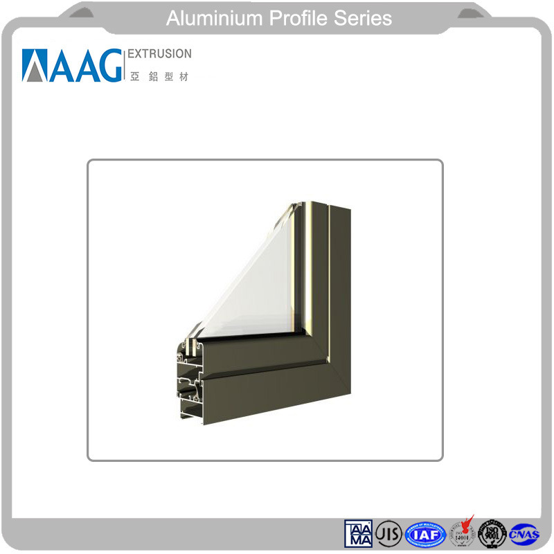 Top Bright Aluminum Metal Exterior Curtain Wall and Aluminum Proifle for Window and Door pictures & photos