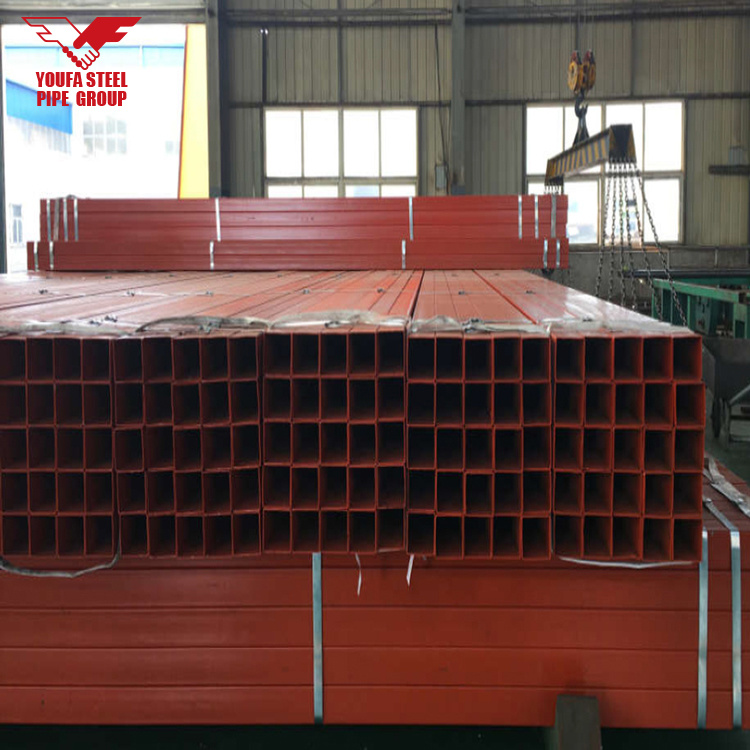 China Ms Square Pipe Weight Chart Square Pipe Square Steel Pipe
