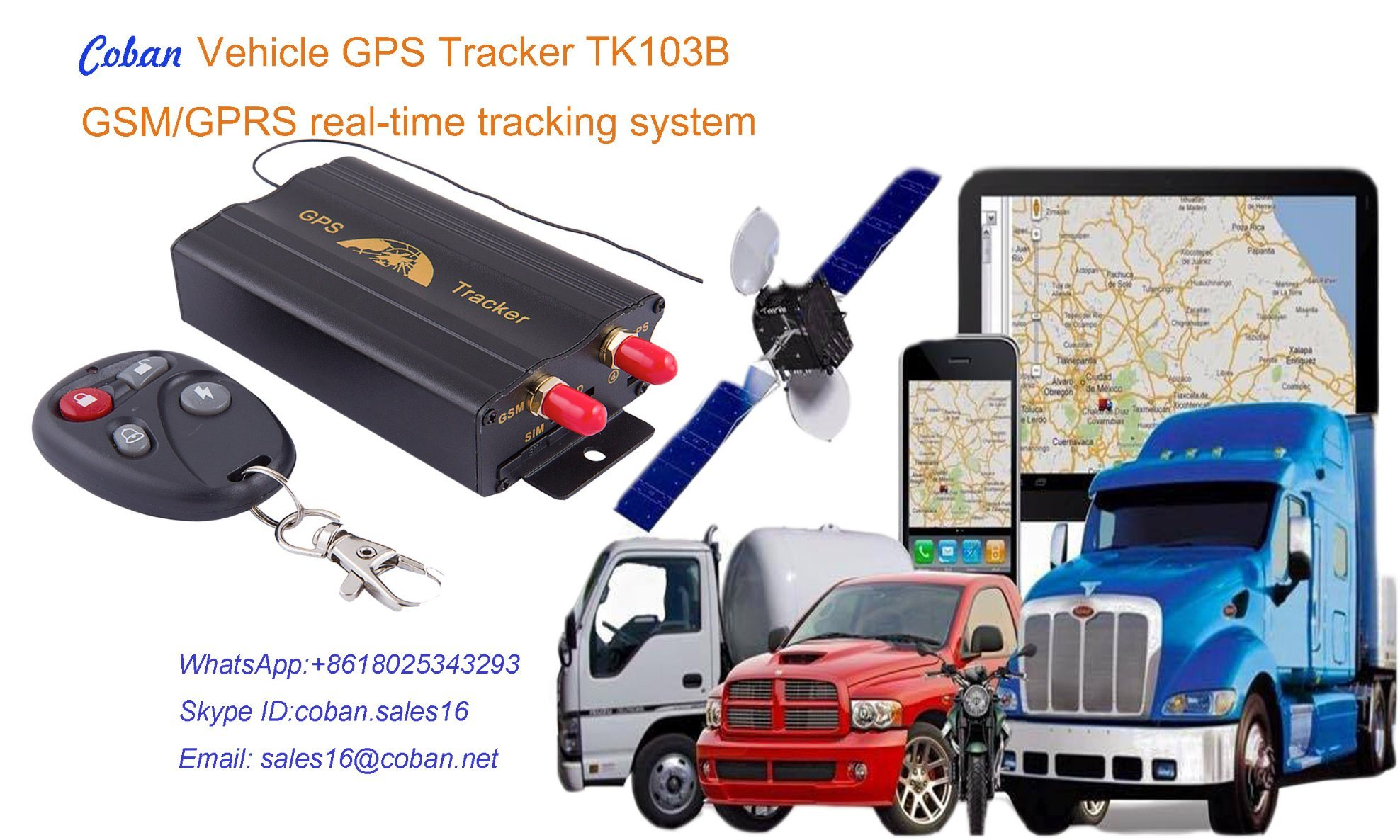Vehicle Gps Tracking >> Hot Item Imei Number Tracking Online Tk103b Vehicle Gps Tracker With Free Tracking Software
