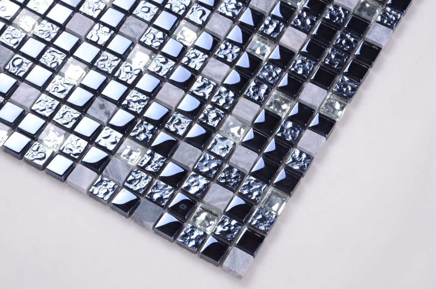 China SD020 1 Inch Mosaic Tile/Glass and Stone Mosaic Tile Photos ...