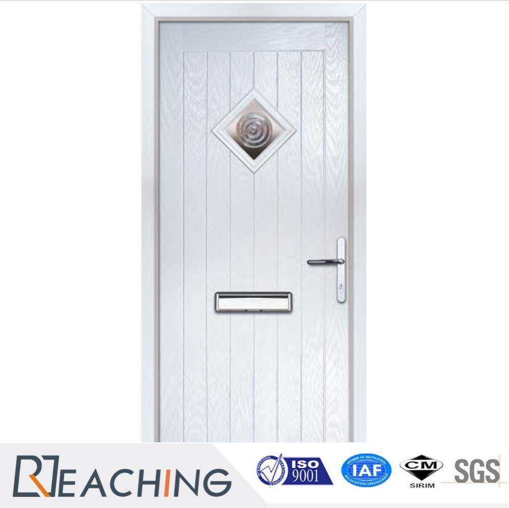 China Front Door Steel Doors With Post Hole