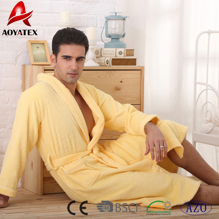 China Wholesale High Quality 100% Cotton Women Hotel Bathrobe - China  Bathrobe 8550ee90f
