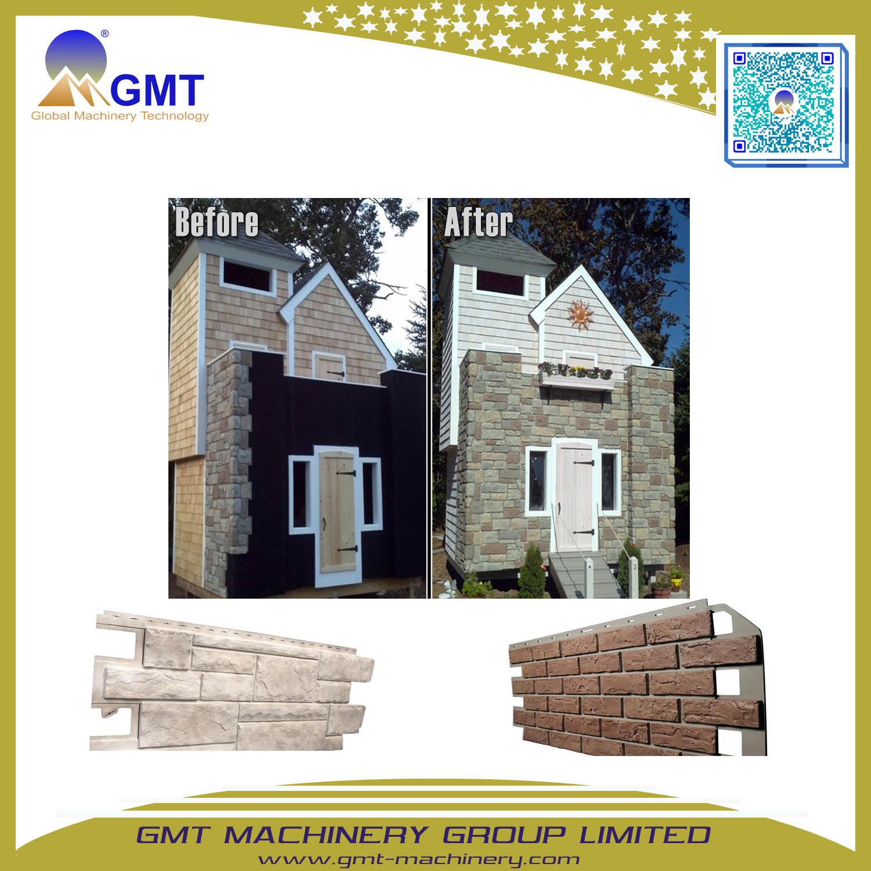 Pvc Imitative Wall Stone Siding Board