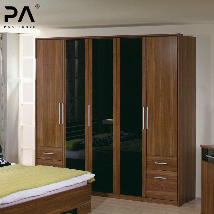 Single Wall Mounted Wardrobe Furniture Bedroom 3 Doors Swing ...