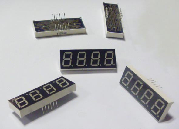 0.3 Inch Red 7 Segment Four Digits LED Display pictures & photos