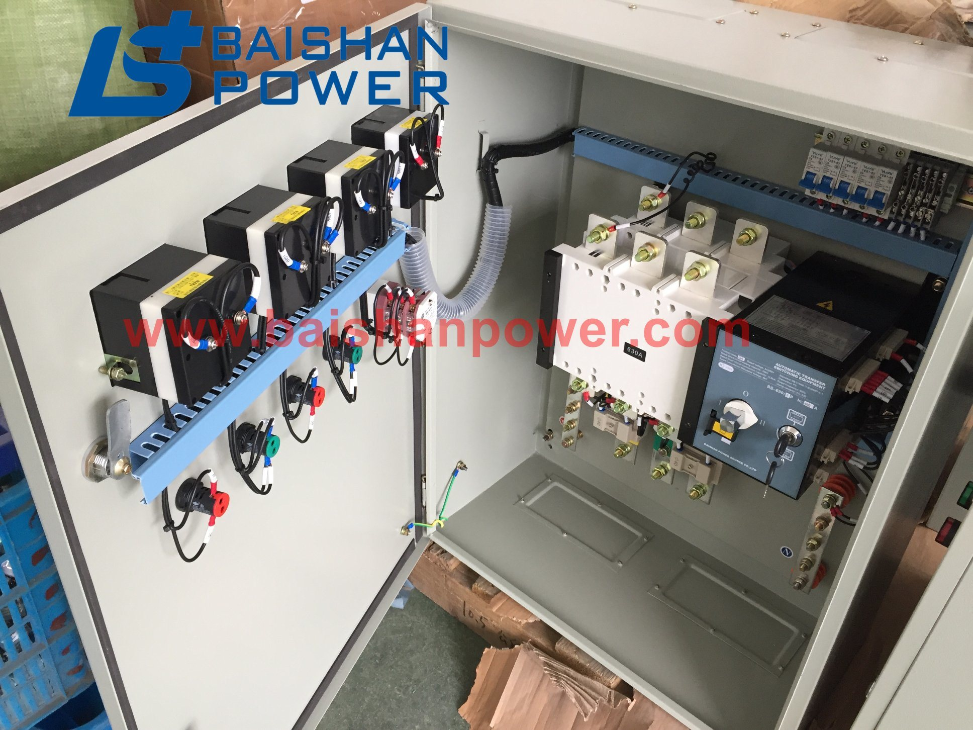 Dual Power Automatic Transfer Switch 110V 4P 63A Tools & Home ...