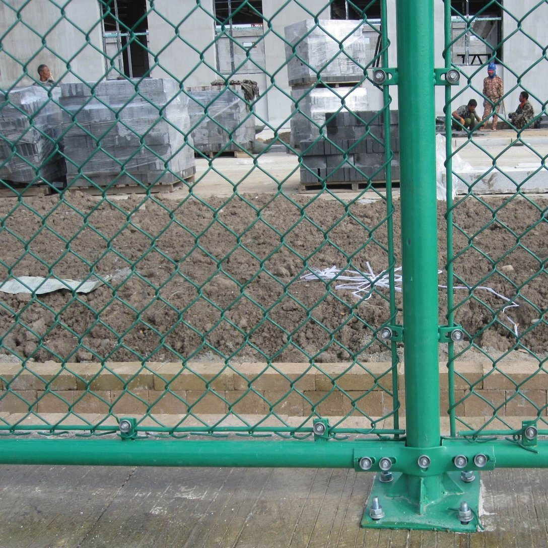 China Galvanized Chain Link Fence Ings Temporary