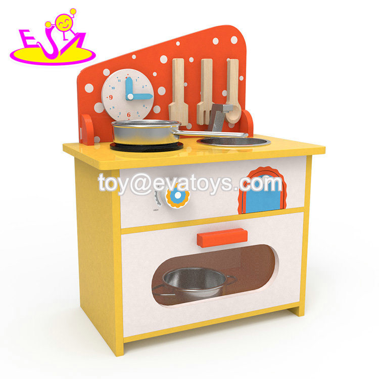 China 2019 Original Design Small Wooden Kids Kitchen Set For Pretend
