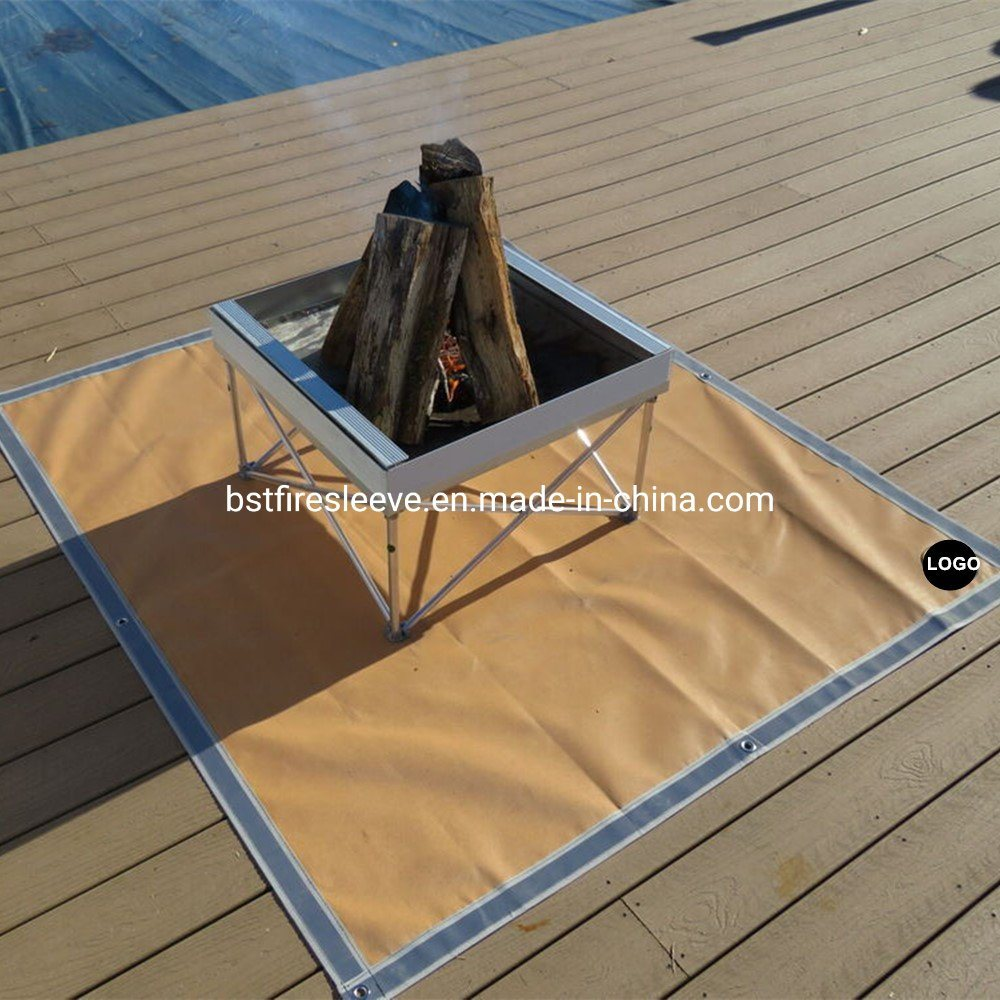China Bbq Gas Grill Mat Pad Deck Floor Protection Fire Resistant Splatter Rug China Fire Resistant Splatter Rug Bbq Gas Grill Mat