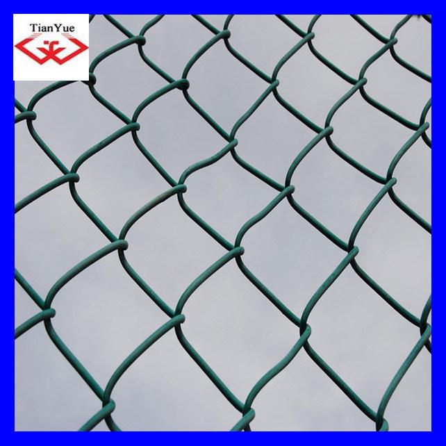 China PVC Coated& Galvanized Chainlink Fence Idiamond Wire Mesh ...