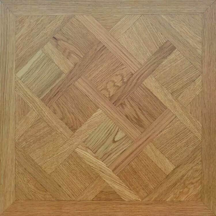 Oak and Maple, Aacia Wire Brush Parquet Wood or Laminate Flooring pictures & photos
