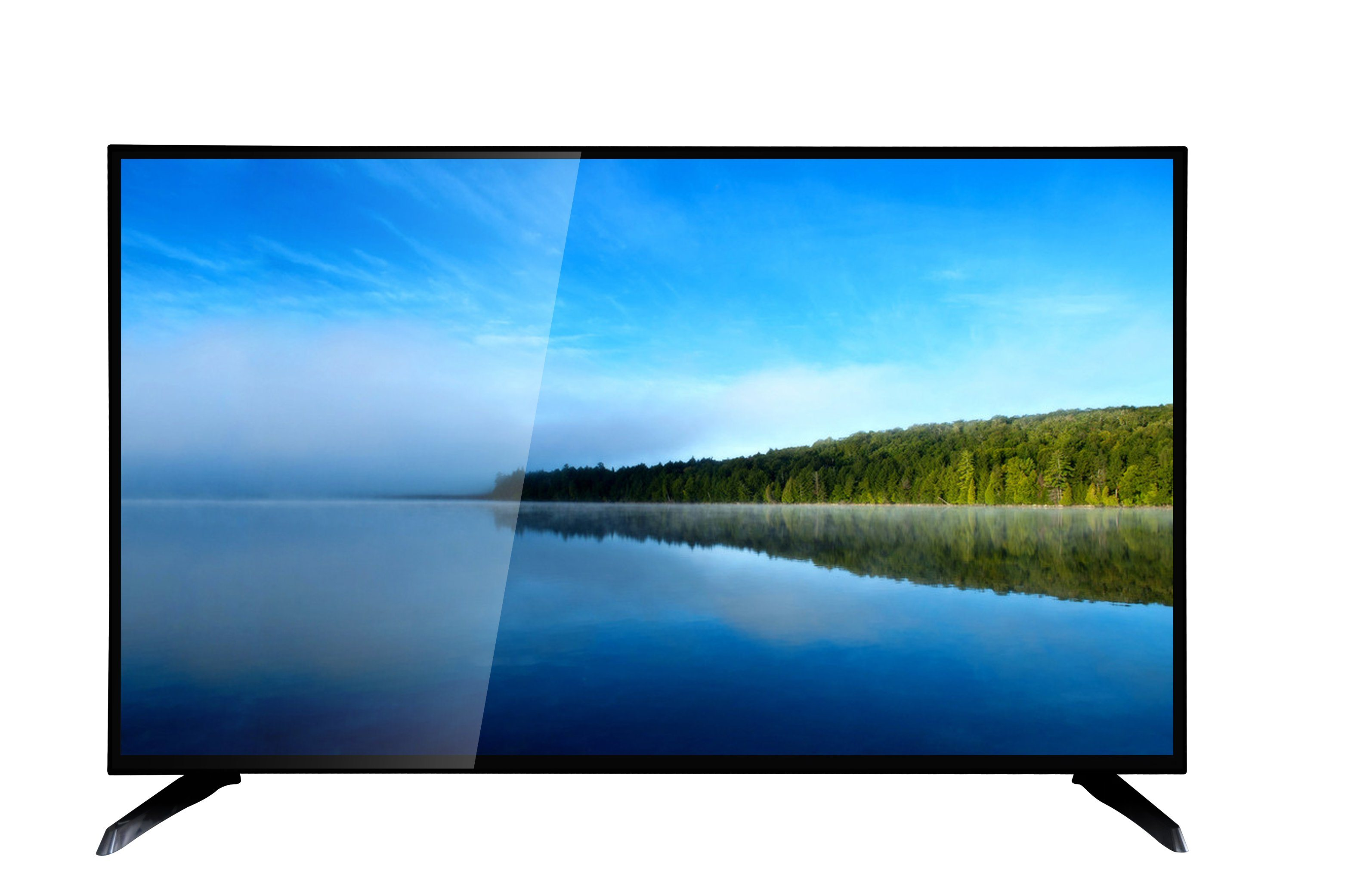 China 40 50 55 Inches Flat Screen Smart Full Hd Color Lcd