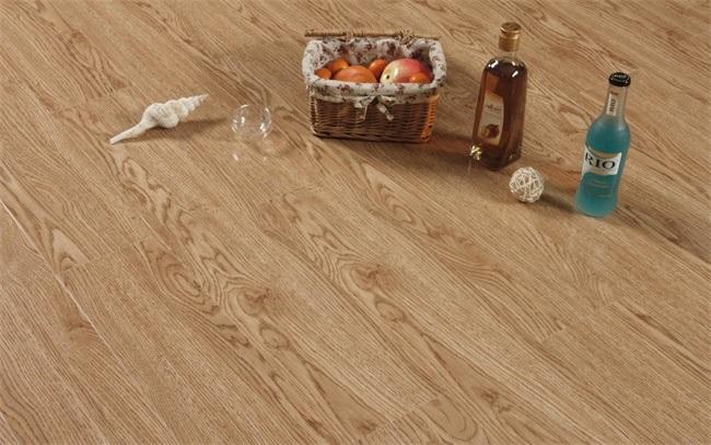 China 73mm Oak V Groove Hdf Laminate Flooring China Laminate
