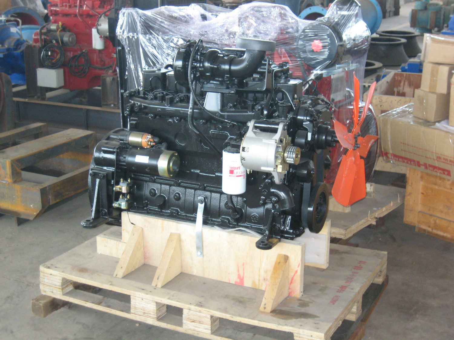 Cummins Diesel Engine for Construction (Cummins 6BTA5.9 C)