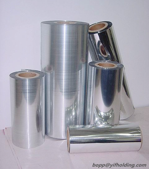 8mic Metallized Polyester Film Using for The Flexible Packaging and Insulation Product