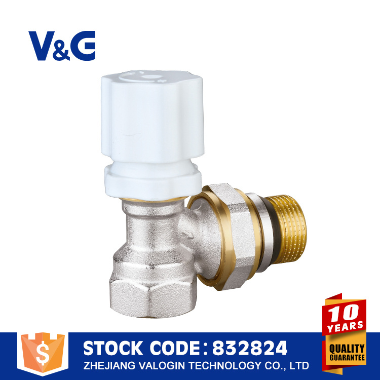 Valogin Chinese Yuhuan Brass Radiator Valve pictures & photos