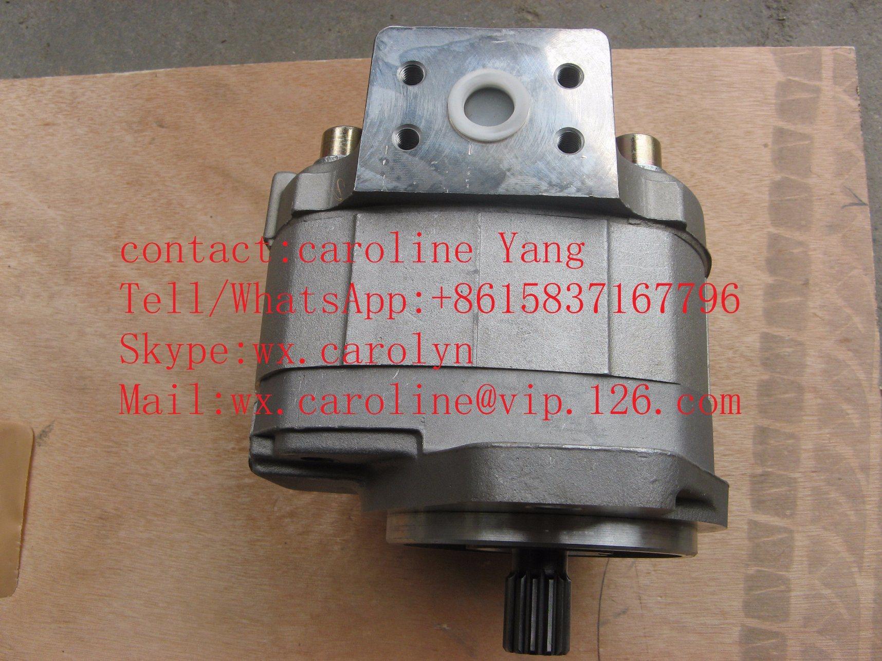 [Hot Item] Genuine Komatsu Pw100 Excavator Steering Pump 705-61-23010  Construction Machinery Spare Parts