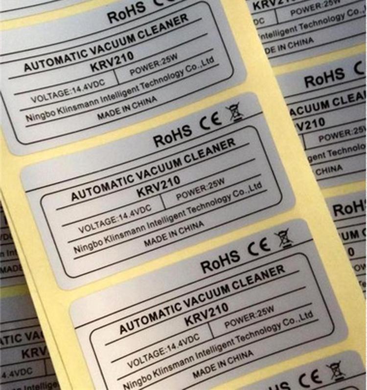 China pet material waterproof self adhesive custom sticker printing china stickers custom stickers