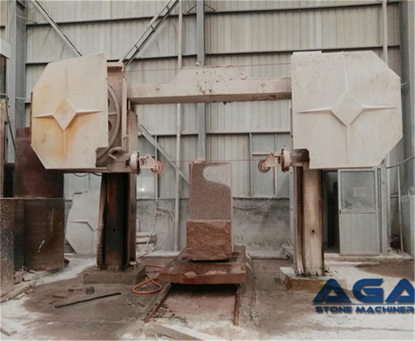China CNC Diamond Wire Saw Machine Cutting Stone/Granite/Marble ...