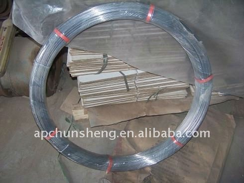 Hot Galvanized Steel Oval Wire