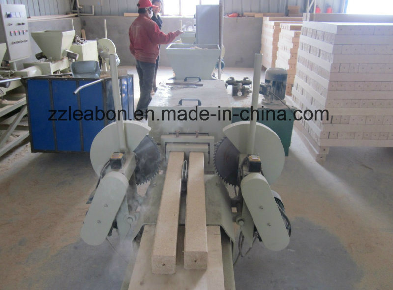 [Hot Item] Waste Sawdust Recycling Wood Feet Block Hot Press Machine