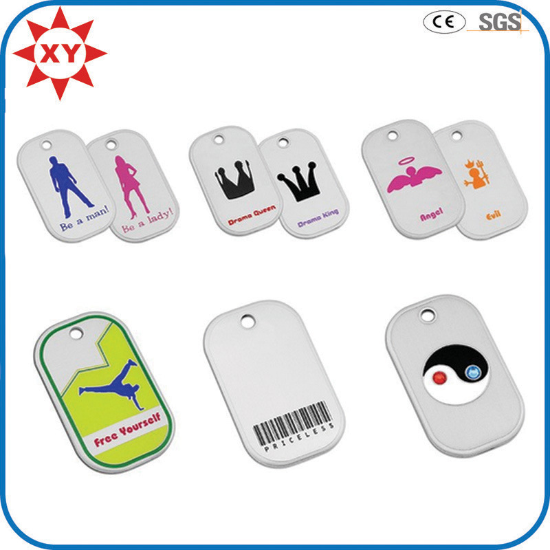 Hot Item Medium Curve Personalized Dog Tags Clip With Id Tag