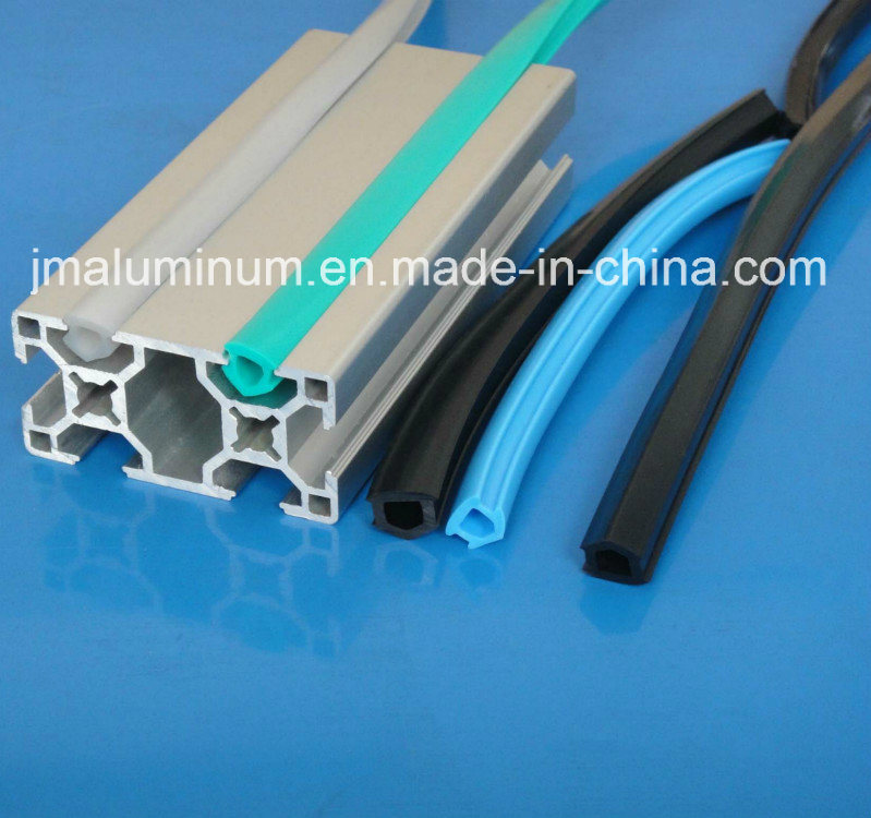 China 8mm Slot Dcr-8 Hard PVC Cover Profile for Covering Profile ...
