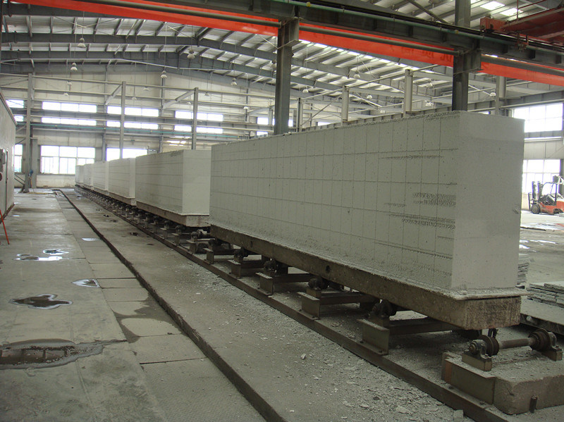 AAC Block Production Line Concrete Blcok