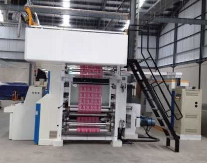 Rotogravure Printing Machine with Electronic Shaft Drive of 200m/Min pictures & photos
