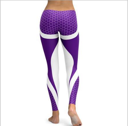 e0a5bd90e5f04 China Women Bottom Polyster Spandex Sexy Honeycomb Yoga Pants ...