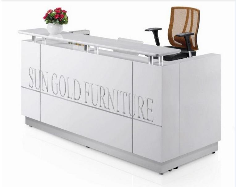 [Hot Item] Modern Furniture Beauty Salon Small White Reception Desk  (SZ-RT015)