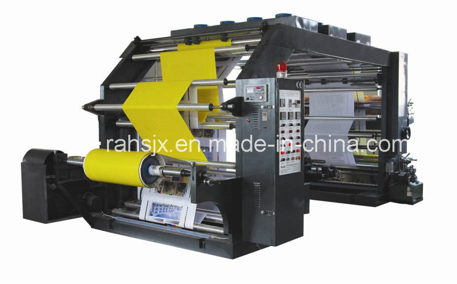 High Speed 4 Color Flexographic Printing Machine (YTB-41000)