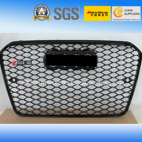 China Black Car Front Grill For Audi Rs5 2013 China Front Grille