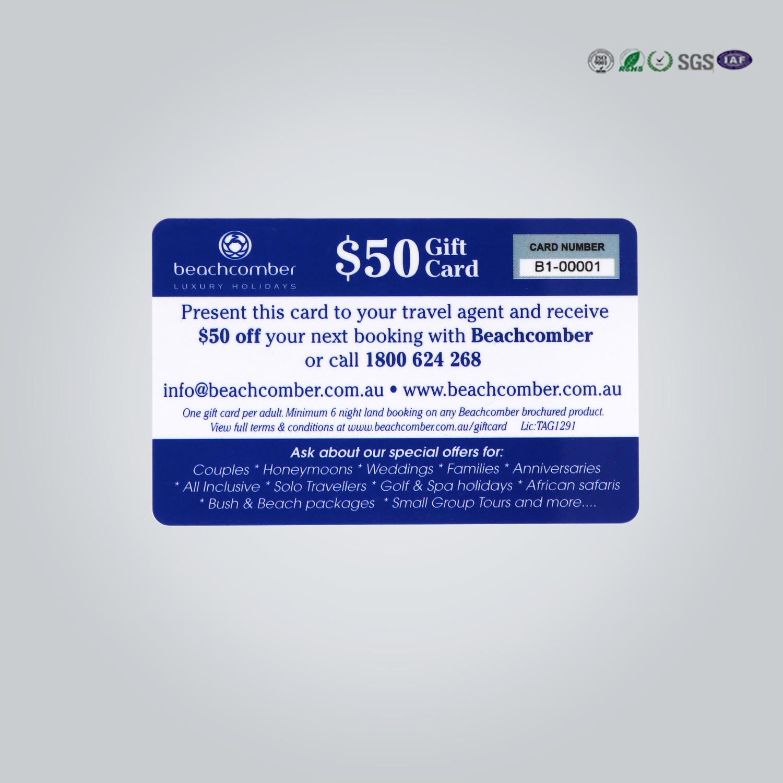 China Custom Plastic Visiting Business Transparent PVC Card - China ...