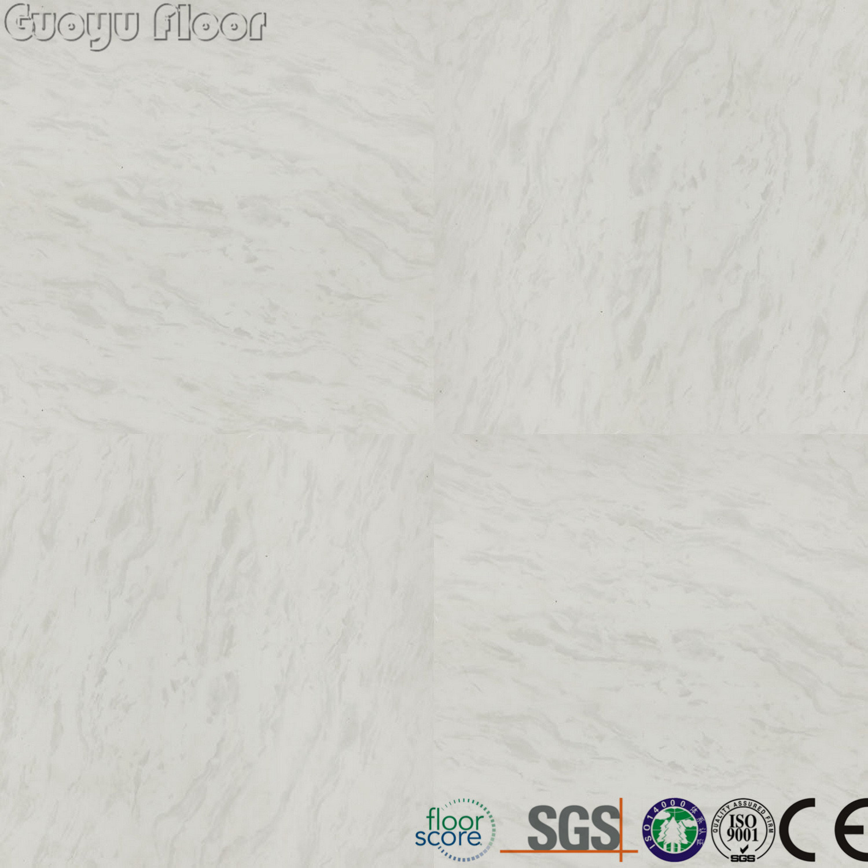 China Easy Clean Peel and Self Stick Marble Look Lvt Vinyl Floor