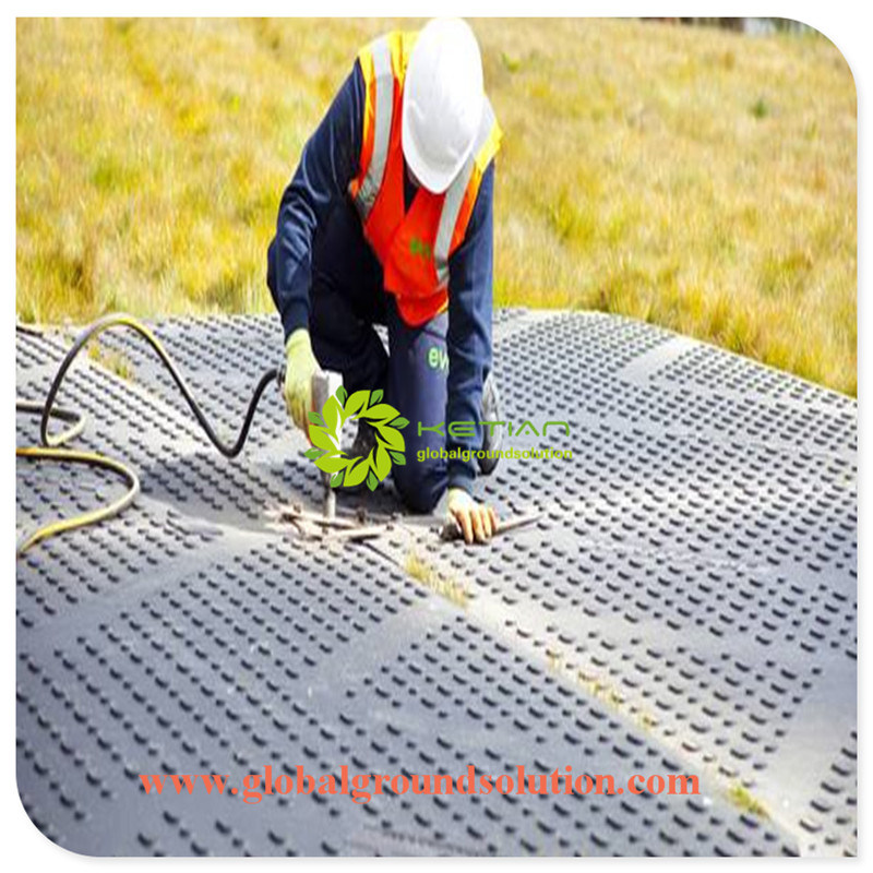 CNC Machine Plastic Ground Protection Mats /Road Plates with Customized Size /on Sale Black Road Panel & China CNC Machine Plastic Ground Protection Mats /Road Plates with ...