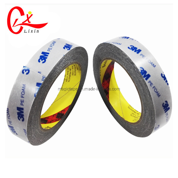 China 3m PE Foam 1mm Thick Black Foam Tape 3m 1600t Photos