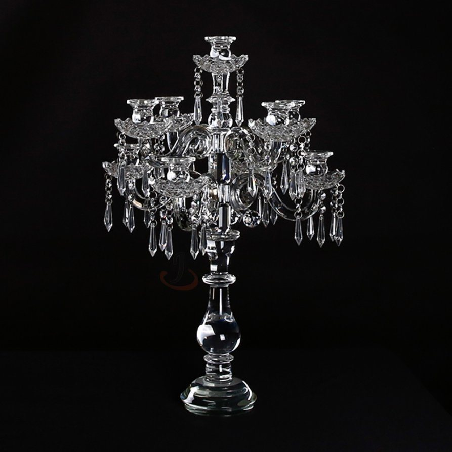 Home Decoration Crystal Candle Holders