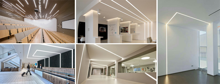 Recessed Ceiling Led Linear Light