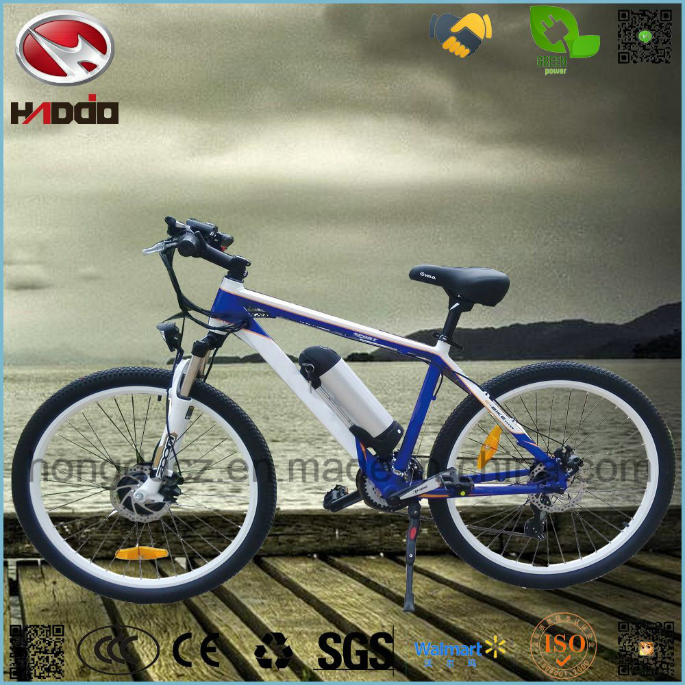 250W Lithium Battery Electric Bicycle LCD Display Pedal MTB Bike for Sale pictures & photos