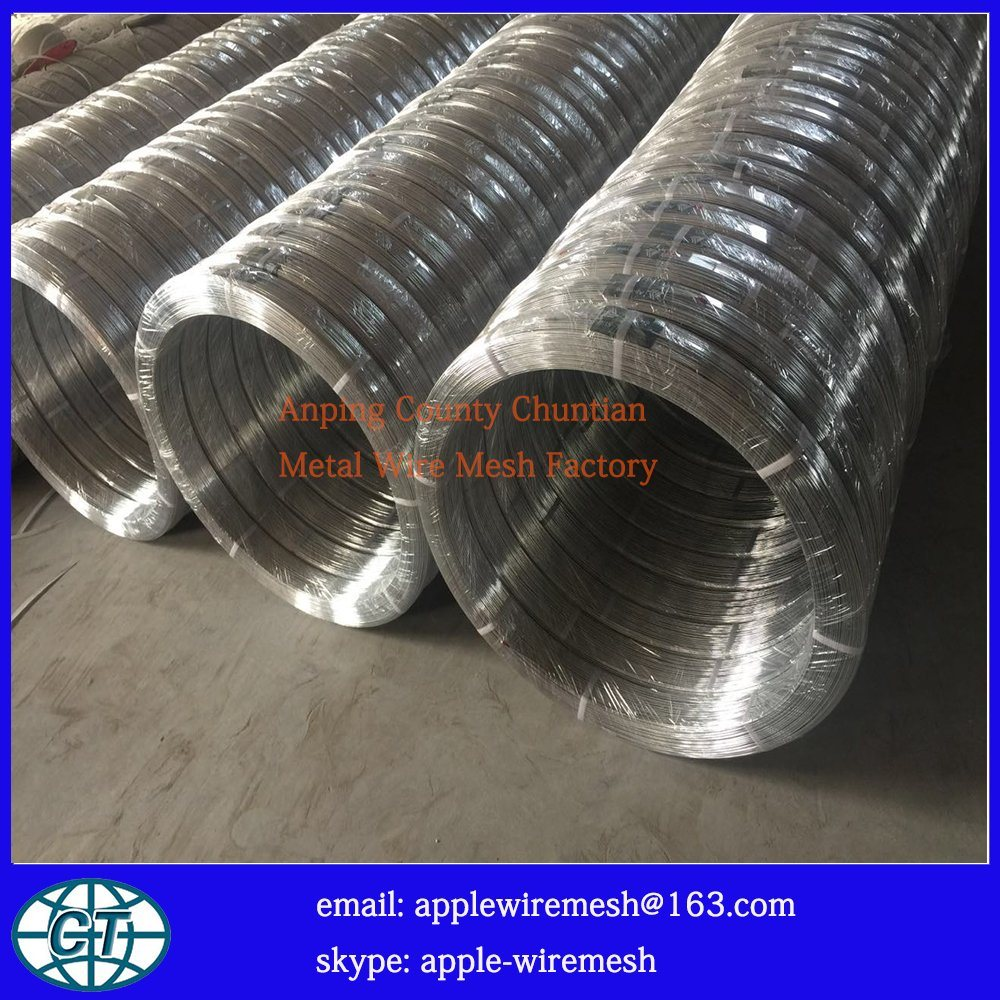 China Oval Galvanize Wire (high carbon wire and low carbon wire ...