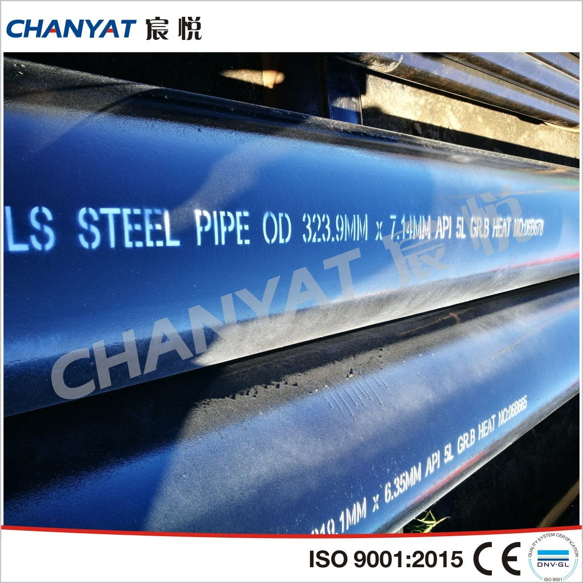 API 5L Line Steel Seamless Pipe & Tubing (X56, X60, X65) pictures & photos