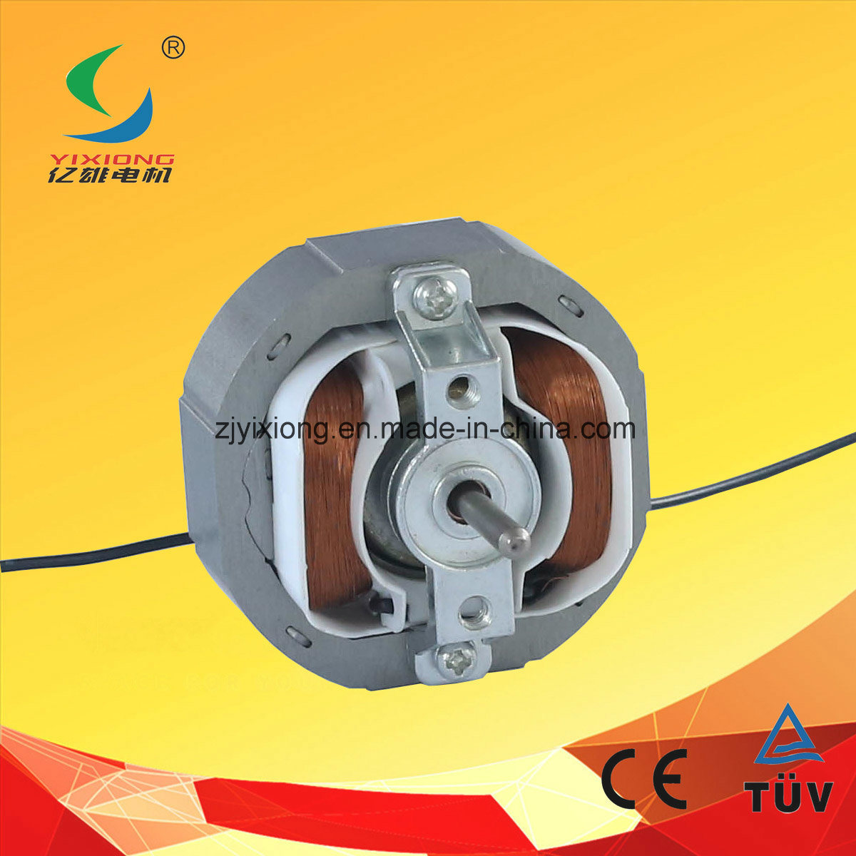 China Single Phase Ac Motor 230v 50hz With Copper Wire Wiring