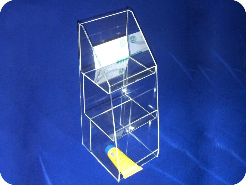 Customize Clear Desktop Acrylic Display Cosmetic Organizer